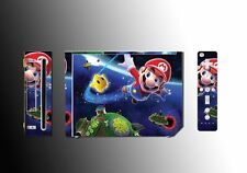 Super Mario Bros Galaxy Sunshine  Video game Vinyl Decal  SKIN #1 Nintendo Wii