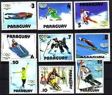 Le paraguay MichelNr. 3197 - 3205 cachet