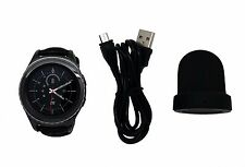 Scratched Samsung Galaxy Gear S2 Classic Smart Watch SM-R735T Black T-Mobile