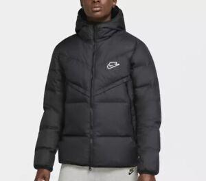 Nike SPORTSWEAR Down Fill Windrunner Small Men's Jacket Black CU4404 010