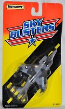 Matchbox Sky Busters Military Marine Harrier Tyco 1994 Die Cast Metal Planes