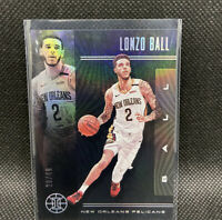 Lonzo Ball 2019-20 Illusions Black Numbered 20/49 Super Rare Panini NBA #11