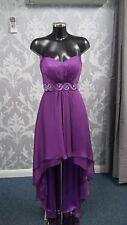 Tiffanys Purple Evening /Prom Dress  Short Front Long Back size 6