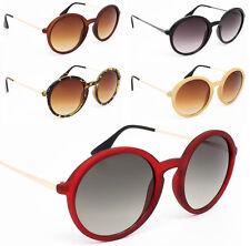 Popular Celebrity Fashion Women Circle Round Ladies Sunglasses