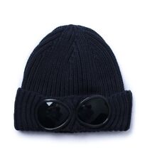 Superme Company Goggle Mens Beanie Knitted Woolly Winter Hats Cap Navy