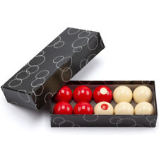 "2-1/8"" Regulation Size Bumper Pool Balls Standard 10 Billiard Ball Set"