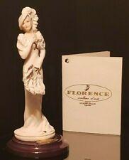 "Giuseppe Armani Florence Damina Con Figurine ""Chantal"" 0361F Italy 1999 ~ Mib"