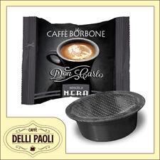 Caffè Borbone Don Carlo Nera box 400 capsule compatibili A Modo Mio