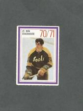1970-71 Esso Hockey Stamp Ron Stackhouse California Golden Seals