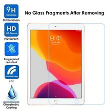 "HD Clear Tempered Glass Screen Protectors For iPad 7th Generation 10.2"" 2019"