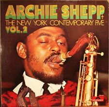 ARCHIE SHEPP-THE NEW YORK CONTEMPORARY FIVE VOL 2-VINILE 33 GIRI-