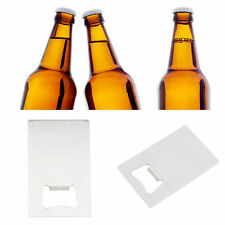 Credit Card Size Bottle Opener Blade For Your Wallet Purse Small Thin Sized FM