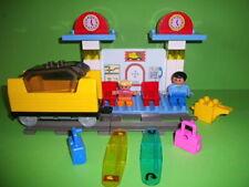 Lego Duplo Eisenbahn Intelli, 3327 Bahnhof Set,Batteriefach, Komplett