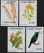 "Sao Tome e Principe: Mi-Nr. 1330-1333 ""Flora und Fauna"" aus 1992, gestempelt"