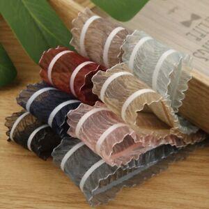 5 yards Folds Organza Stain Ribbons DIY Crafts Gift Box Wrapping Lace Ribbon