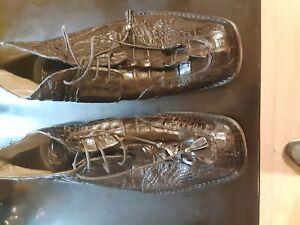 Mauri Hornback Black Ankle Boots Mens size 10.5