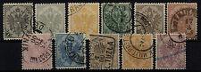 Echte gestempelte Briefmarken aus Bosnien & Herzegowina (bis 1945)