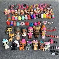 Lot 100 Pcs LOL Surprise Doll Queen bee Lil Pet & outfit dress shoes Jouets