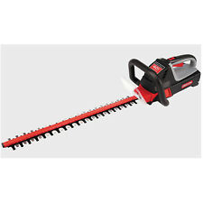 """Oregon PowerNow HT250-A6 (24"""") 40-Volt, 4.0Ah Cordless Hedge Trimmer w/ Stand..."""