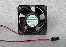 Sunon KDE2406PTV1 60mm x 25mm MagLev Fan 24V DC 2 Pin Molex SL Connector