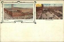 Chicago IL Libby McNeil Libby Factory c1905 Postcard