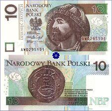 POLAND 10 ZLOTYCH 15.09.2016(17) *P-183b*PREFIX AW*UNC* Banknote