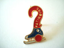 PINS RARE SPORT PATINOIRE PATINAGE ARTISTIQUE PATIN A GLACE FIGURE