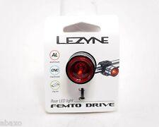 Lezyne FEMTO Drive Taillight, Multi Mode Rear Flasher, Black