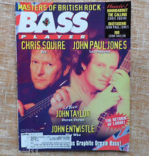 Bass Player Magazine, Noviembre 1994, Chris Squire, John Paul Jones, 81 páginas
