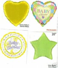 Baby Shower Party Balloons 5pc Mylar Foil Balloon Kit#1