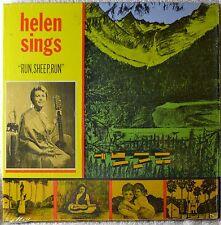 Helen Landsverk Sings Run Sheep LP Shrink Private Press Femme Folk Gospel Great!