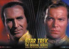 Star Trek The Original S Heroes & Villains 100 base set and P1 promo + wrapper