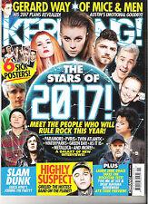 Kerrang Magazine Issue 1616 April 23rd 2016 Bring Me The Horizon Blink 182
