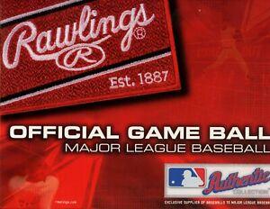 One Dozen Official MLB Rawlings Bud Selig Baseballs Nested (12) MINT