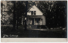 1907-1915 RPPC Mentor Ohio The Cottage Vacation Home RARE DB Real Photo Postcard