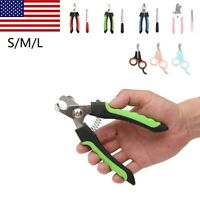 Dog Nail Clippers Trimmers Cutters Professional Ergonomic Grooming Tool S,M,L