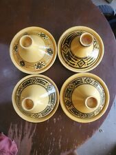 Moroccan Serving Tagine Handmade Ceramic - Set of 4