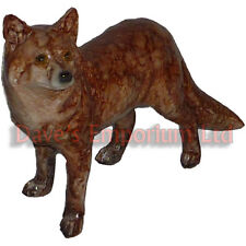 Red Fox by Juliana - Natural World Collection - Vixen Ornament Figurine 15.5cm