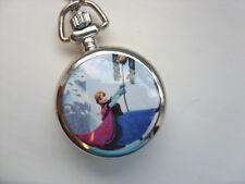 Stunning Frozen  Anna Necklace Watch