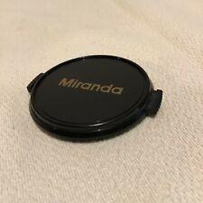 MIRANDA 49mm SNAP FIT LENS CAP