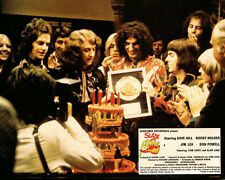 Slade in Flame Original Lobby Card Noddy Holder and group get gold record
