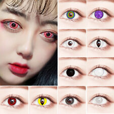 Cosmetic Lenses Colored Eyes Makeup Cosplay Halloween Beautiful Face Accessories
