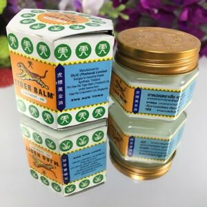 20g White TIGER Balm Relief Muscle Ache Pain Insect Bite Massage Ointment