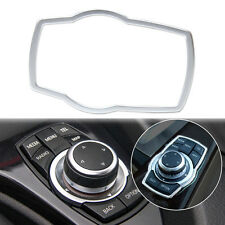 Interior Multimedia Button Cover Molding Trim for BMW 1 3 5 7 Series X3 X4 X5 X6