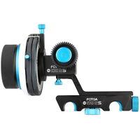FOTGA Upgrade DP500IIS A/B Hard Stop QR Dampen Follow focus Quick Release 15 Rod