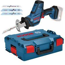 Bosch Akku-Säbelsäge GSA 18 V-LI C Professional  - L-BOXX 136 - inkl. 3 Sägeblät