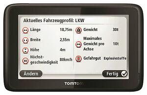 "TomTom Business PRO 7150 Europa Truck 45 Länder 5"" Europe IQ GPS LKW Navigation"