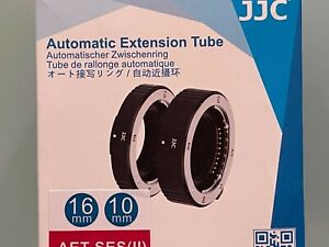 Sony E-mount macro extension tubes 10mm & 16mm