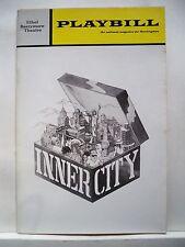 INNER CITY Playbill LINDA HOPKINS / CARL HALL / DELORES HALL NYC 1971