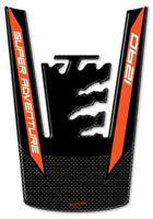 PARASERBATOIO ADESIVO GEL 3D compatibile per MOTO KTM 1290 SUPER ADVENTURE S-R